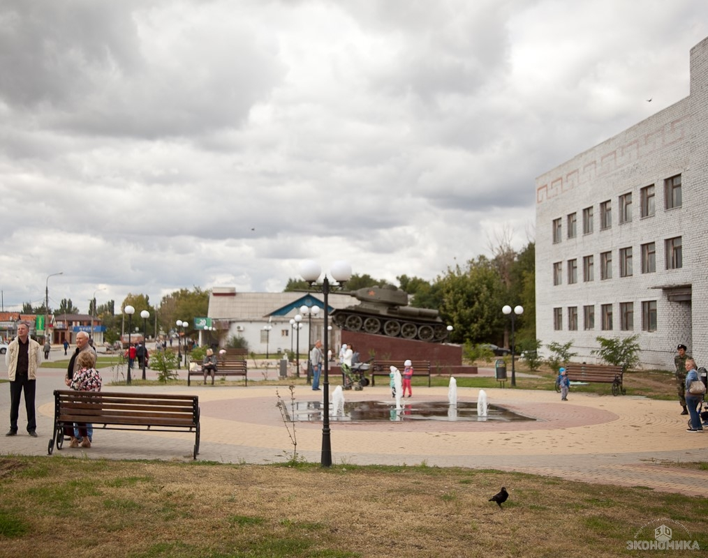 Губернатор Волгоградской области осмотрел объекты благоустройства вКалаче-на-Дону