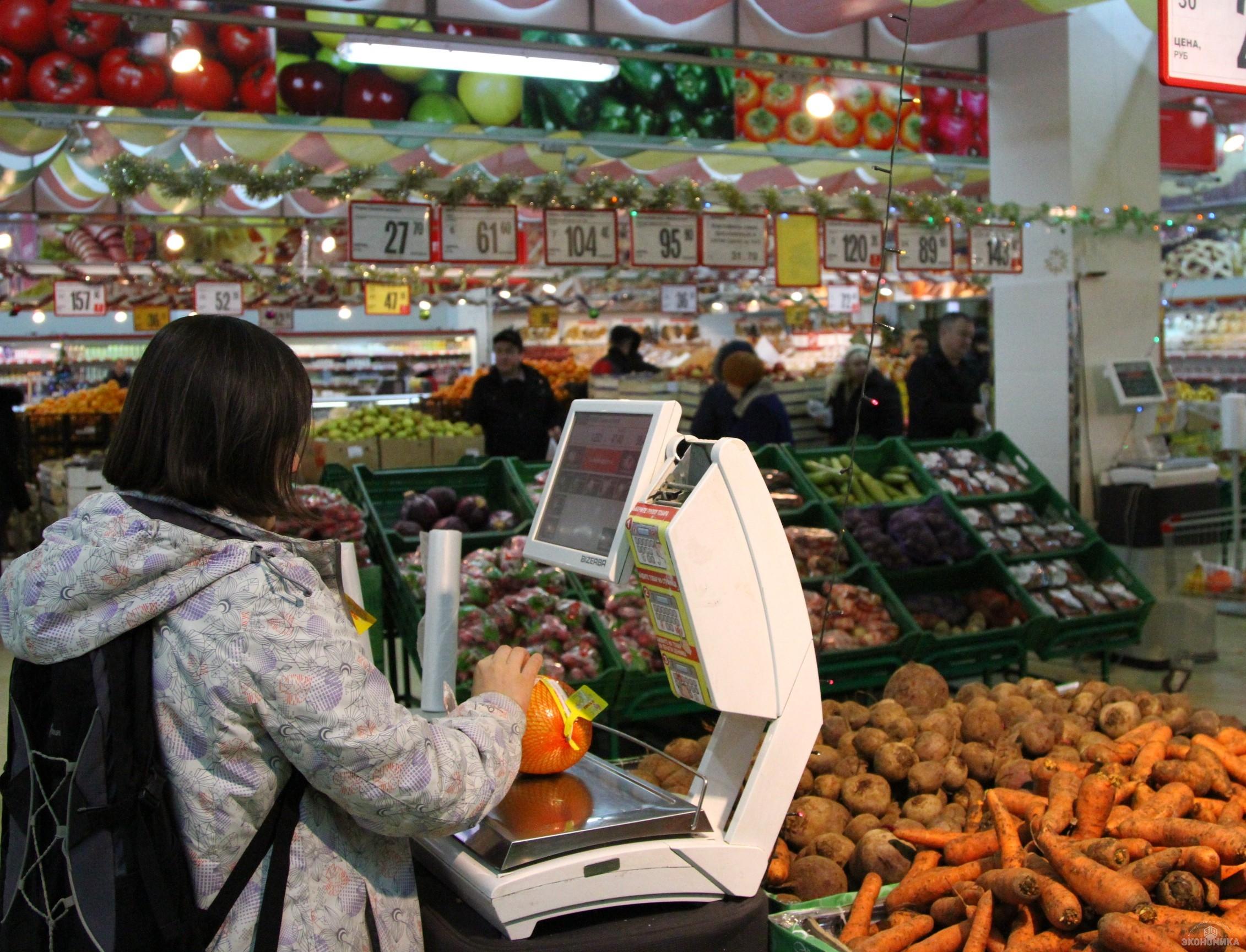 Среднедушевой оборот торговли иобщепита увеличился вВолгоградской области