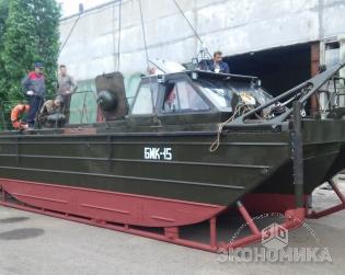 В Волжском начинают производство мобильных плавучих насосных станций для проектов по мелиорации