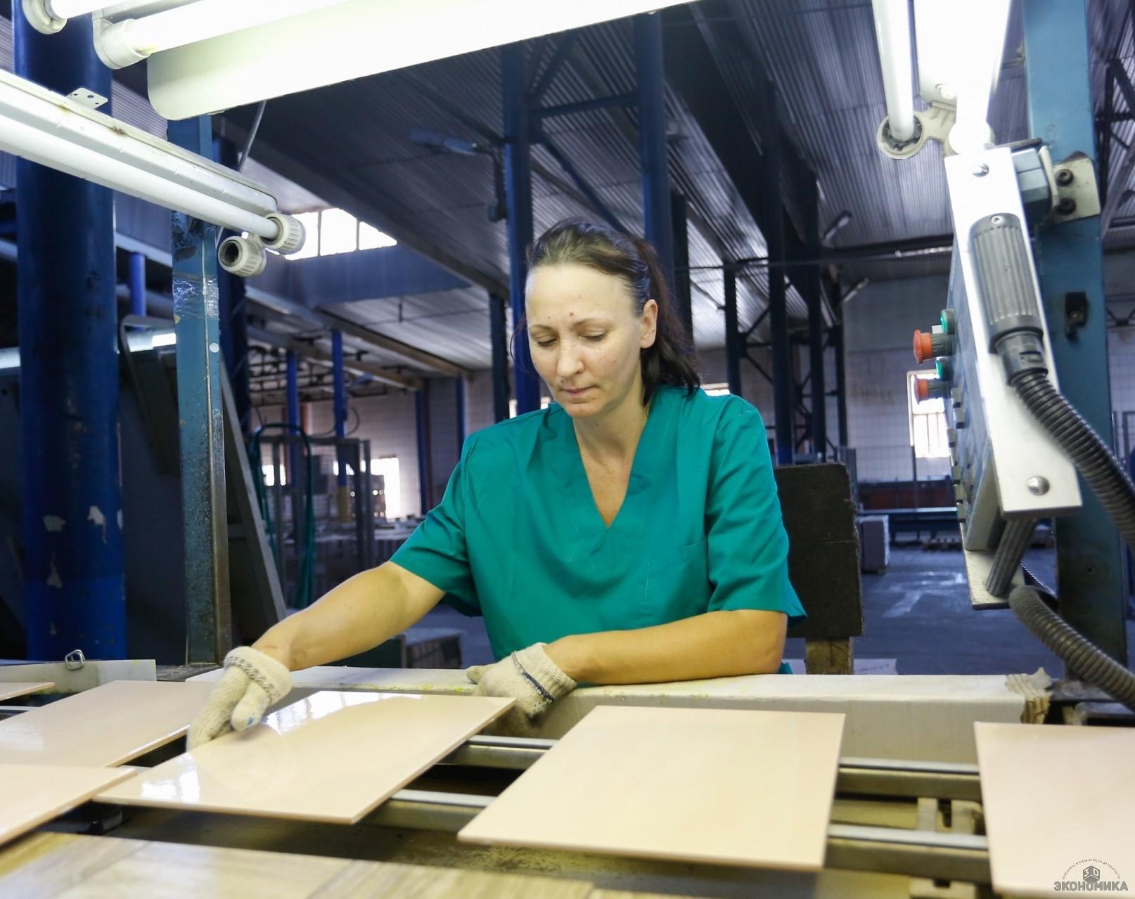 Волгоградский керамический завод получил займ ФРП наприобретение оборудования